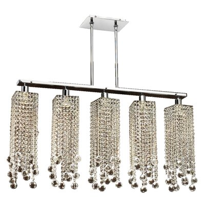 Knouse 5-Light Kitchen Island Pendant