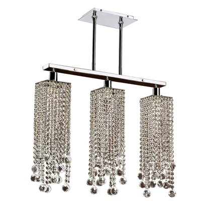 Knott 3-Light Kitchen Island Pendant