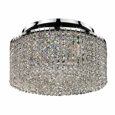 Dollison 4-Light Flush Mount