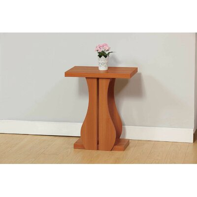 Melin Chairside End Table with Storage Color: Light Cherry