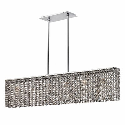 Dollard 6-Light Crystal Pendant