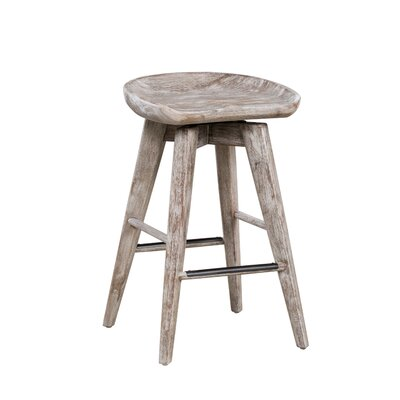 Manzer 25.75 Swivel Bar Stool