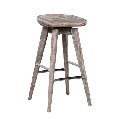 Manzer 30.75 Swivel Bar Stool
