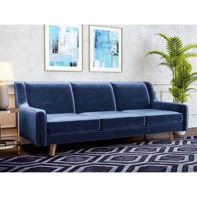 Kaye Sofa Upholstery: Royal Blue