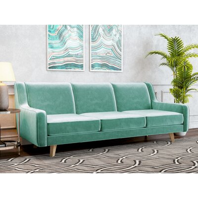 Weigle Sofa Upholstery: Seafoam