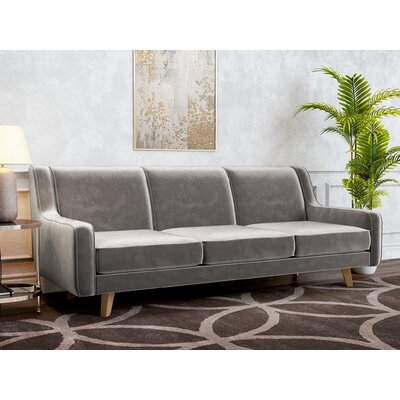 Weigle Sofa Upholstery: Platinum