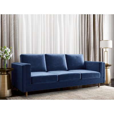 Dupree Sofa Upholstery: Royal Blue