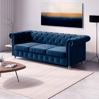 Chittenden Sofa Upholstery: Royal Blue