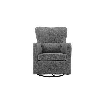Aucoin Modern Swivel Armchair Upholstery: Ash Gray