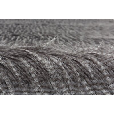 Canter Feathers Gray/Silver Area Rug