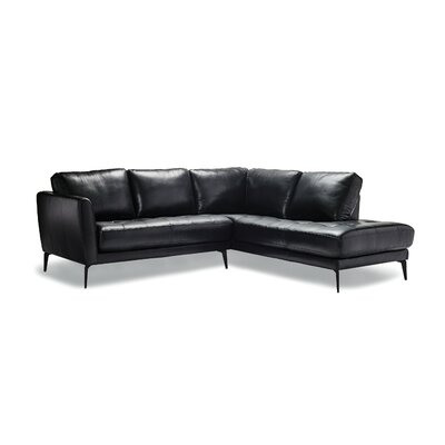Cutlip Leather Modular Sectional
