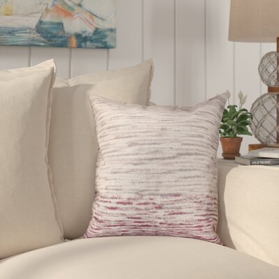 Boubacar Outdoor Throw Pillow Size: 18 H x 18 W, Color: Purple