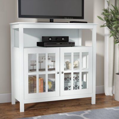 Schererville 36 TV Stand Color: White