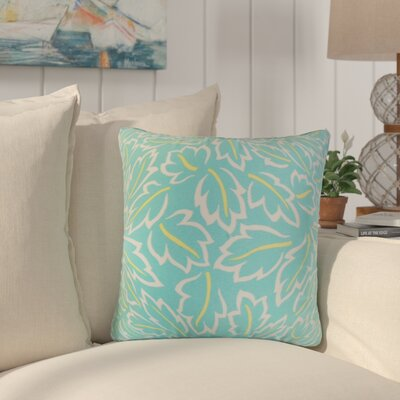 Pankuri Foliage Throw Pillow Color: Turquoise