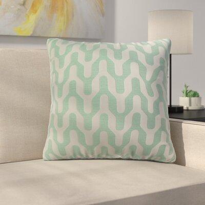 Arellano Decorative Throw Pillow Color: Seafoam