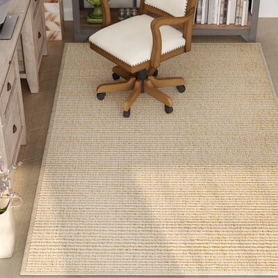 Paquerette Linen Area Rug Rug Size: Runner 26 x 9