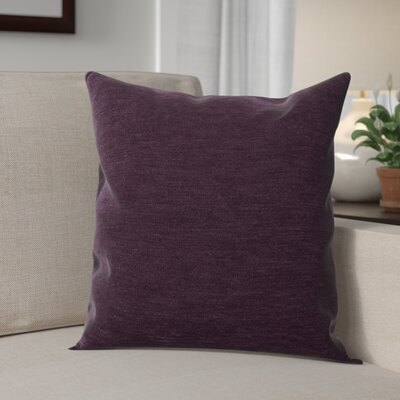 Danin Modern Outdoor Throw Pillow Color: Eggplant, Size: Medium