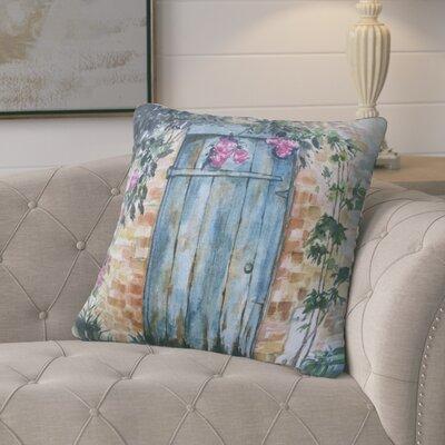 24 Anya Wood Door Throw Pillow