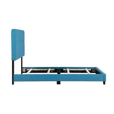 Alexander Panel Bed Size: Full, Bed Frame Color: Blue