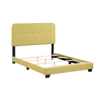 Alexander Panel Bed Size: Full, Bed Frame Color: Green