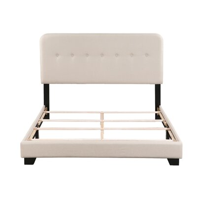 Alexander Panel Bed Size: Queen, Bed Frame Color: Tan