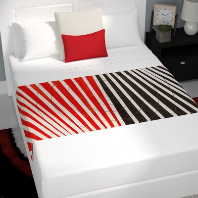 NL Designs Optical Illusions Bed Runner