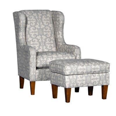 Cudney Club Chair and Ottoman