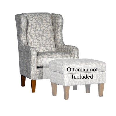 Cudney Club Chair Upholstery: Theodora Linen Damask