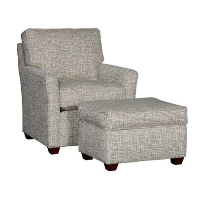 Cueva Club Chair and Ottoman