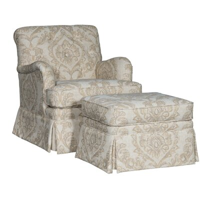 Pisano Club Chair and Ottoman