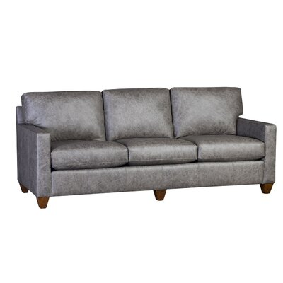 Culberson Sofa Upholstery: Omaha Gray, Finish: Brown