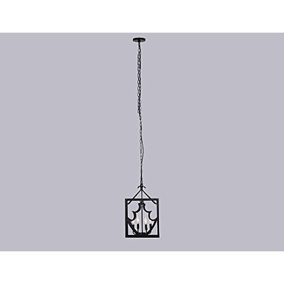 Maciel Metal 4-Light Foyer Pendant