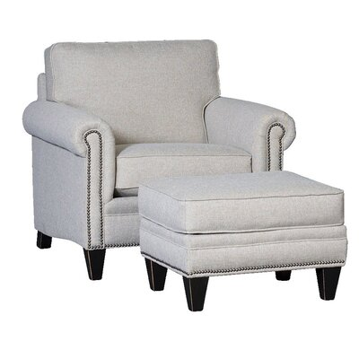 Culler Club Chair and Ottoman