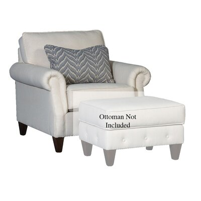 Citium Club Chair Upholstery: Cotton Dixon Oatmeal, Nailhead Detail: Not included