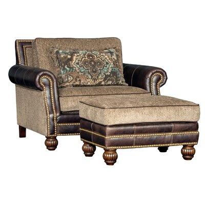 Hudak Club Chair and Ottoman