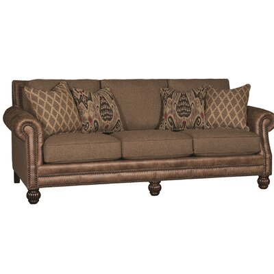 Hudak Sofa Upholstery: Fino Brownstone Palance Pueblo, Finish: Brown