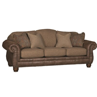 Bedford Sofa Upholstery: Bark Vagabond Elk, Color: Brown