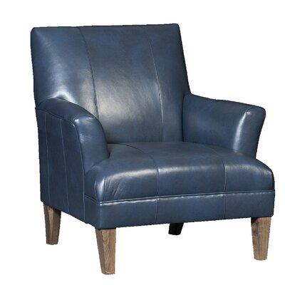 Marcell Club Chair Upholstery: Revelation Oceanic, Finish: Whitewash