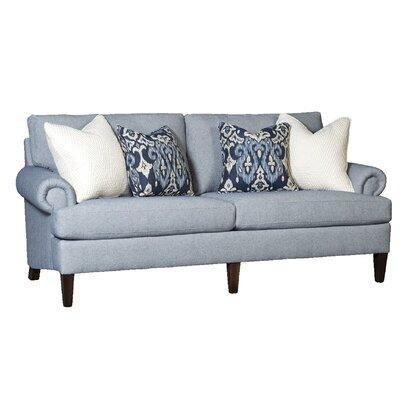 Citlali Sofa Upholstery: Dixon Marine, Finish: Walnut