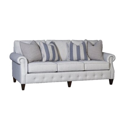 Citium Sofa Upholstery: Colorado Gray, Finish: Driftwood