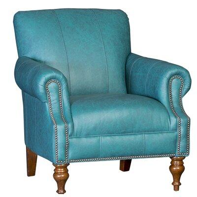 Crutchfield Club Chair Upholstery: Omaha Turquoise