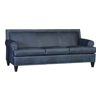 Marcello Sofa Upholstery: Tenby Adriatic, Finish: Espresso