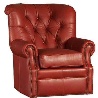 Cumbie Wood Swivel Club Chair Upholstery: Edinburg Sequoia