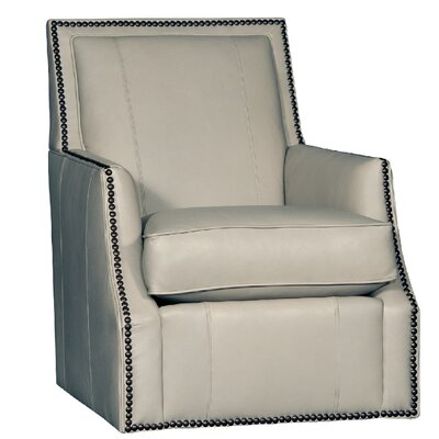 Cruse Swivel Club Chair Upholstery: Edinburg Cement