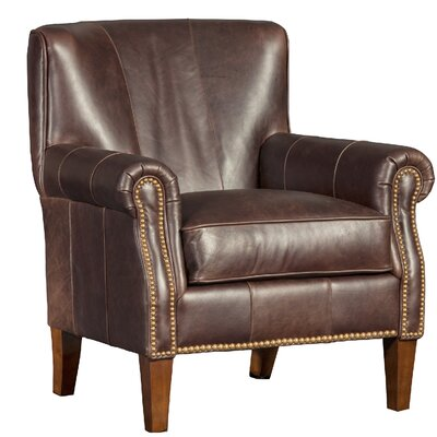 Crutcher Club Chair Upholstery: Fargo Chocolate