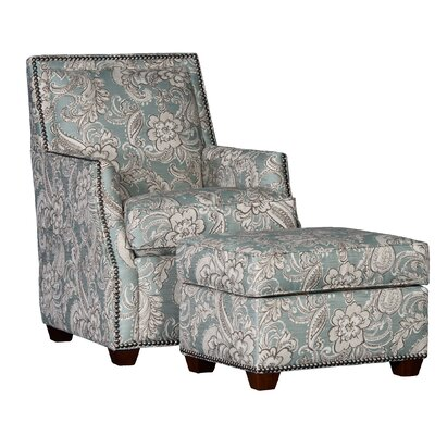 Cruse Club Chair and Ottoman