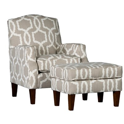 Cuccia Club Chair and Ottoman