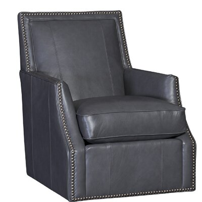 Cruse Swivel Club Chair Upholstery: Salvador Flannel