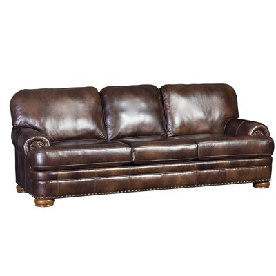 Huckstep Sofa Upholstery: Heirloom Back Brown