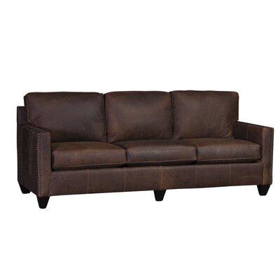 Culberson Sofa Upholstery: Flea Market Cedar, Finish: Black